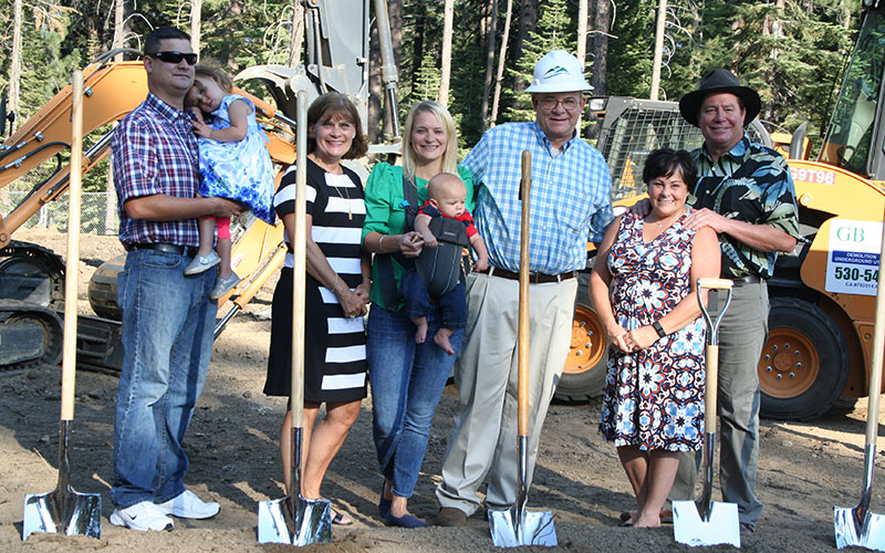 Fry Family Ground Breaking