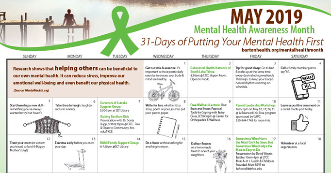 31-day Mental Health Challenge