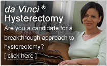 da Vinci Hysterectomy Patient Brochure